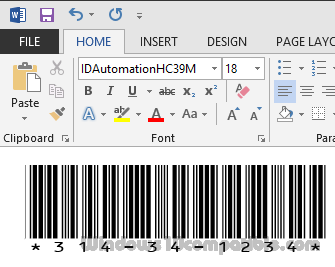 Free Code 39 Barcode Font 14 08 Free download